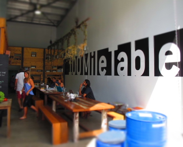 100 Mile Table, Byron Bay: Review