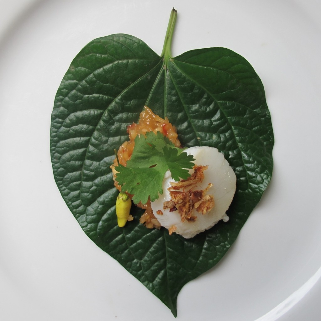 Caramelised 'Miang' Betel Leaves Recipe
