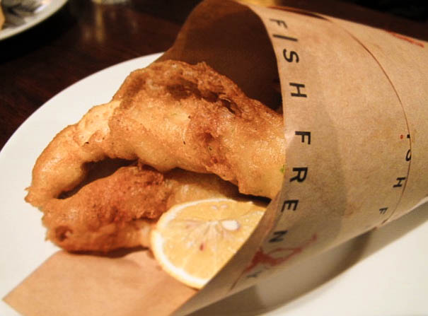 Fish Frenzy Flathead and Chips