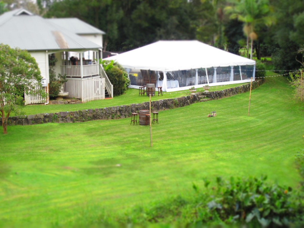Wedding preparations - Bangalow Guesthouse