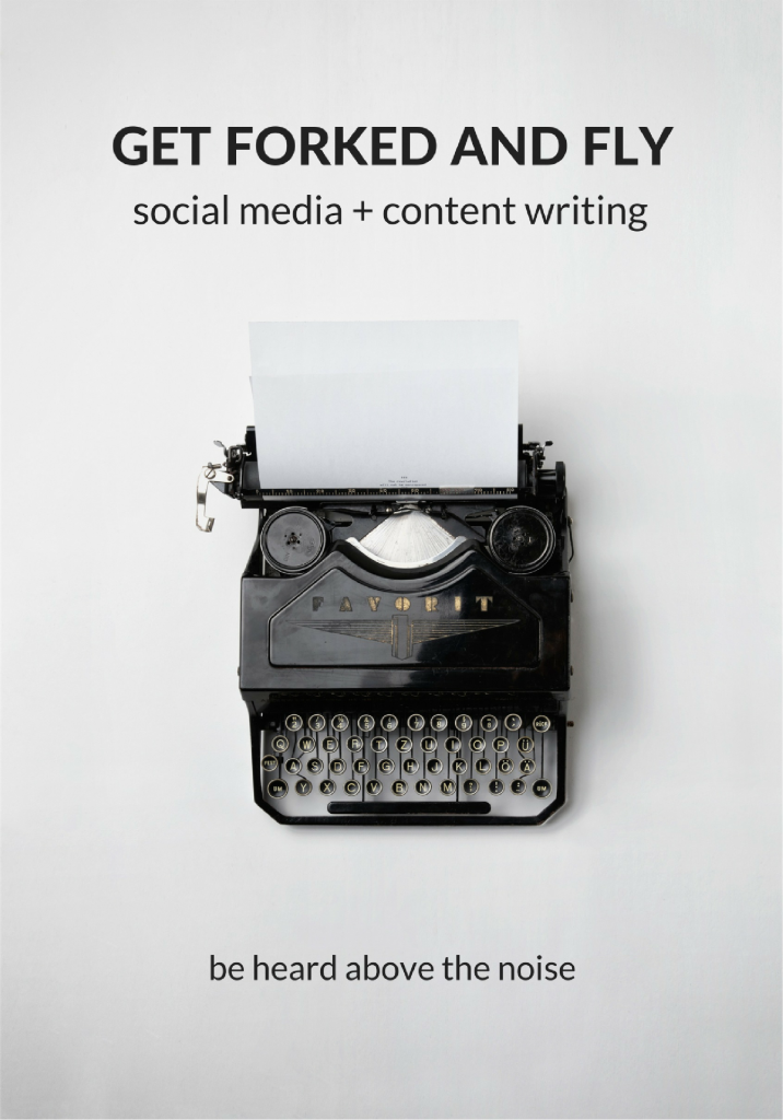 Get Forked and Fly Social Media and Content Writing