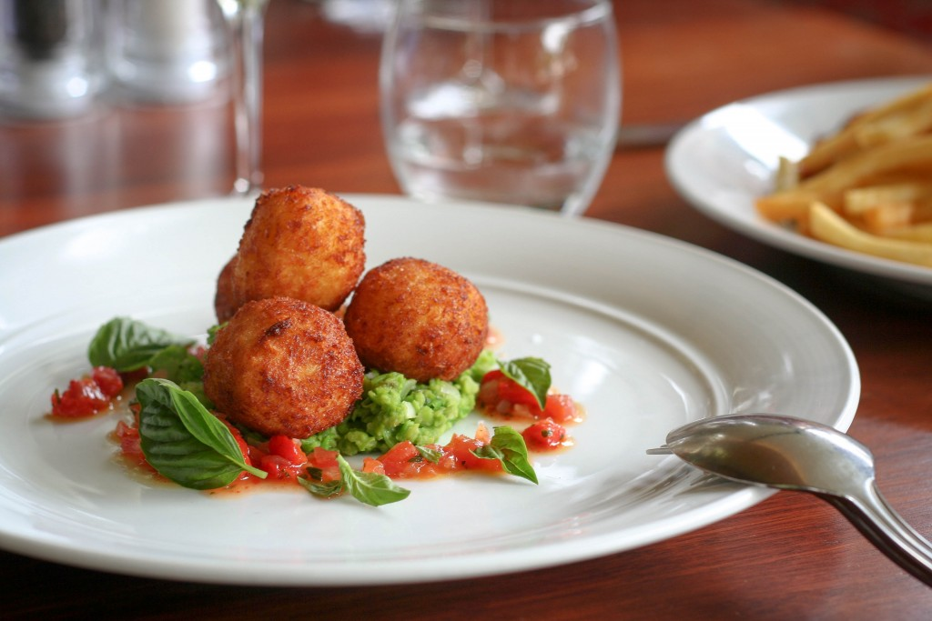 Byron at Byron Resort and Spa Crumbed Risotto Balls