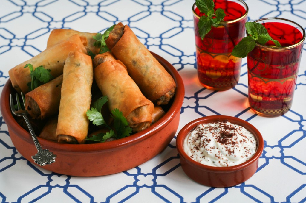 Middle Eastern Lamb Cigars Recipe