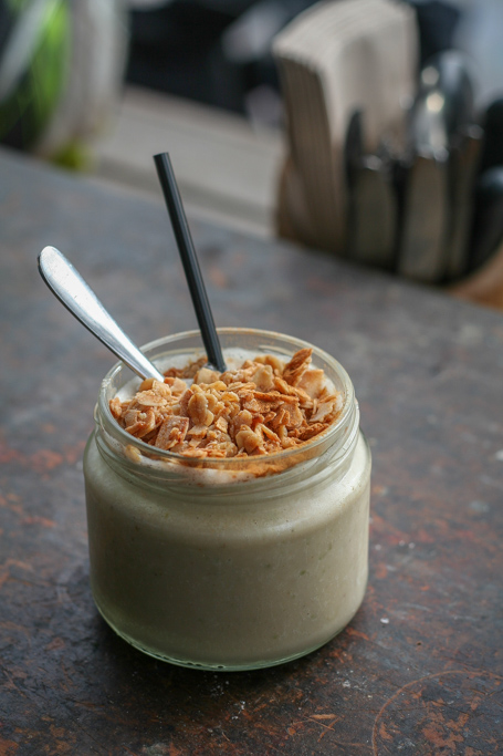 Bayleaf Café Humble Apple Crumble Smoothie