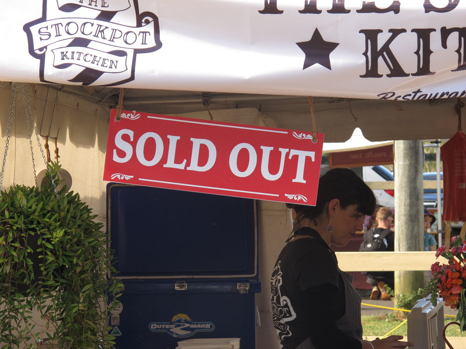 The Stockpot Kitchen Sold Out
