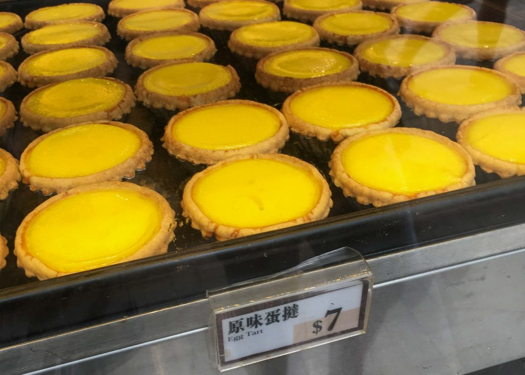 Hong Kong Foodie Tours - Egg Tarts