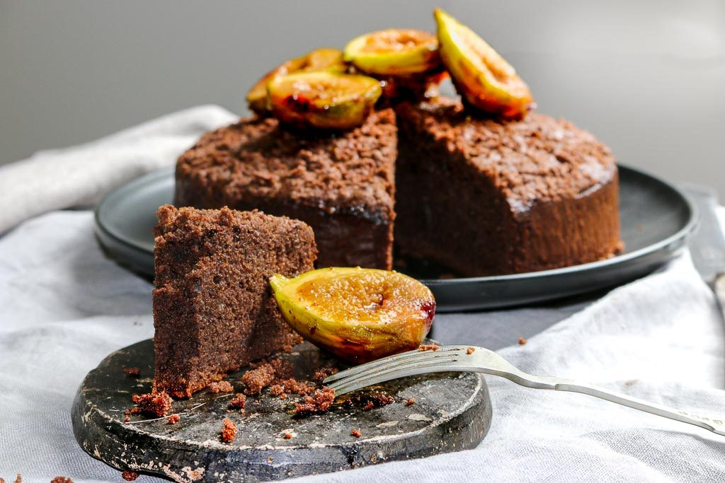 Chocolate and Almond Torte Recipe: Gavin Hughes