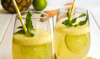 Pineapple, Ginger and Mint Mojito Recipe