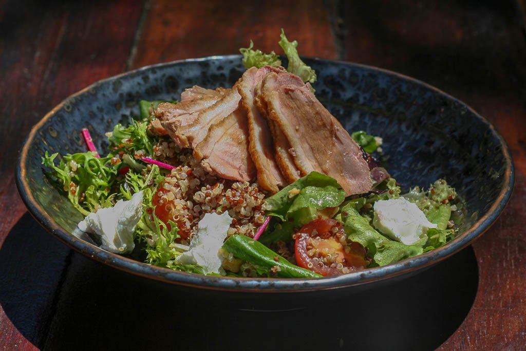 Treehouse on Belongil Duck Salad