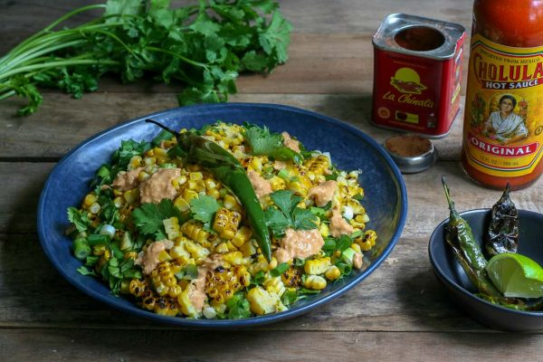 Grilled Mexican Corn Salad Recipe