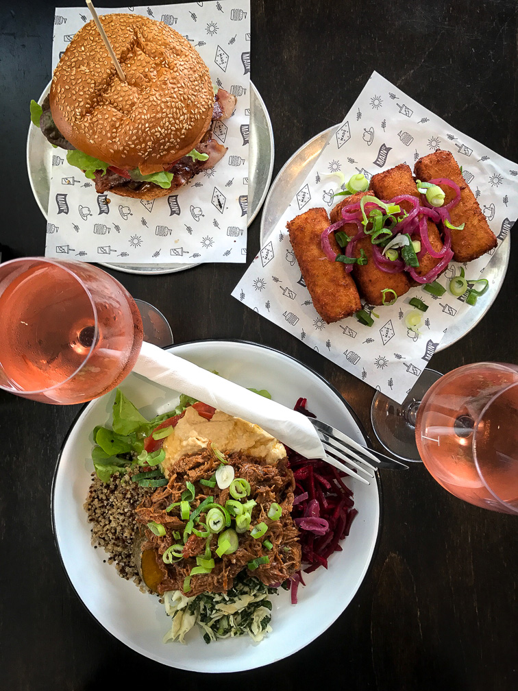 Main Street Burger Bar Byron Bay Lunch for Two