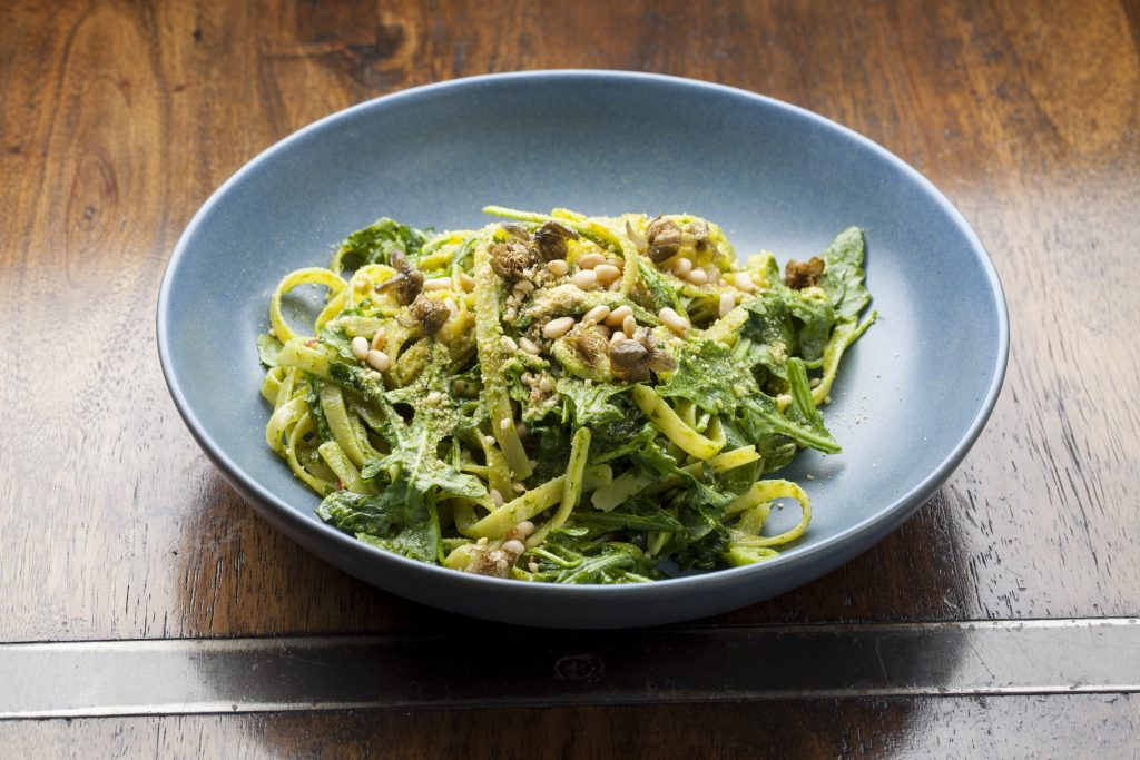 Vegan Pesto Pasta Recipe The Beet Byron Bay