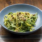 Vegan Pesto Pasta Recipe: The Beet Byron Bay