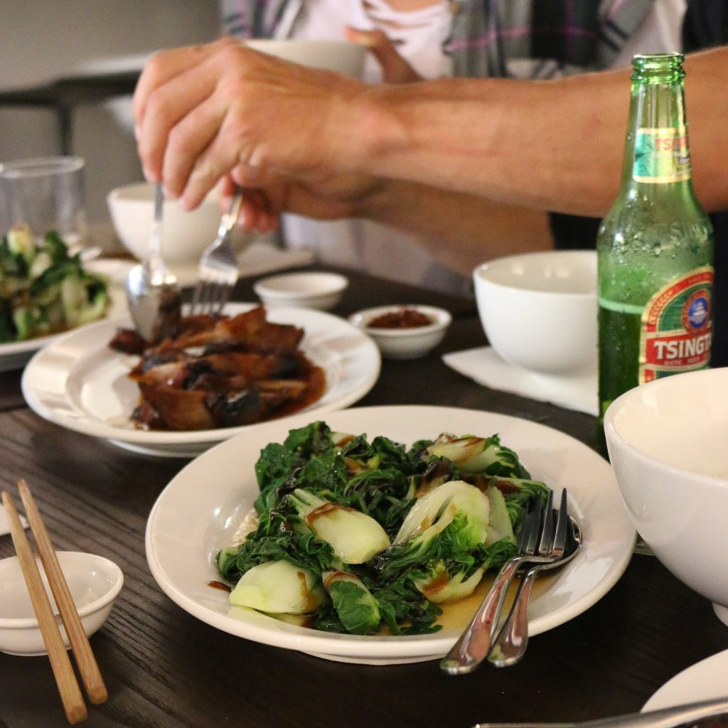 DUK in Byron Bay Wok Fried Greens