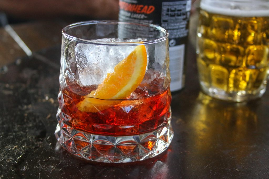 Negroni at The Bolt Hole in Byron Bay