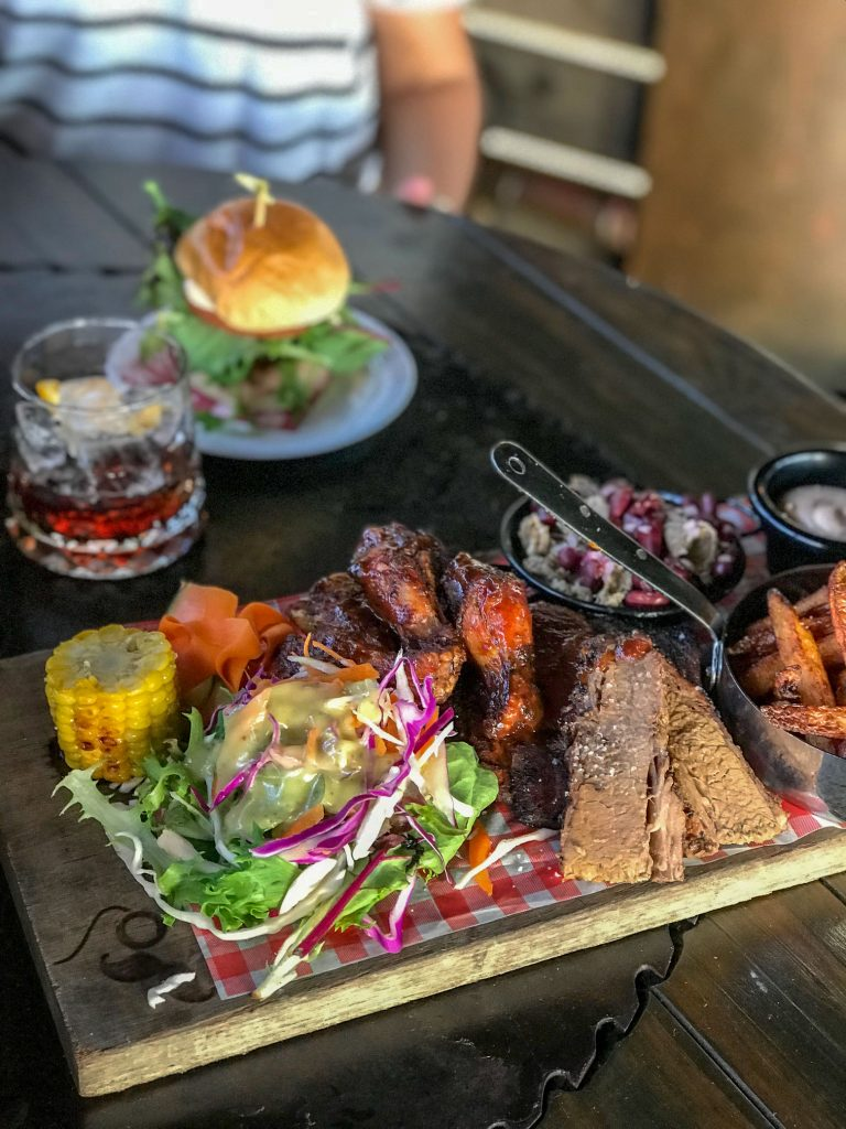 Smokehouse Platter for One at The Bolt Hole in Byron Bay