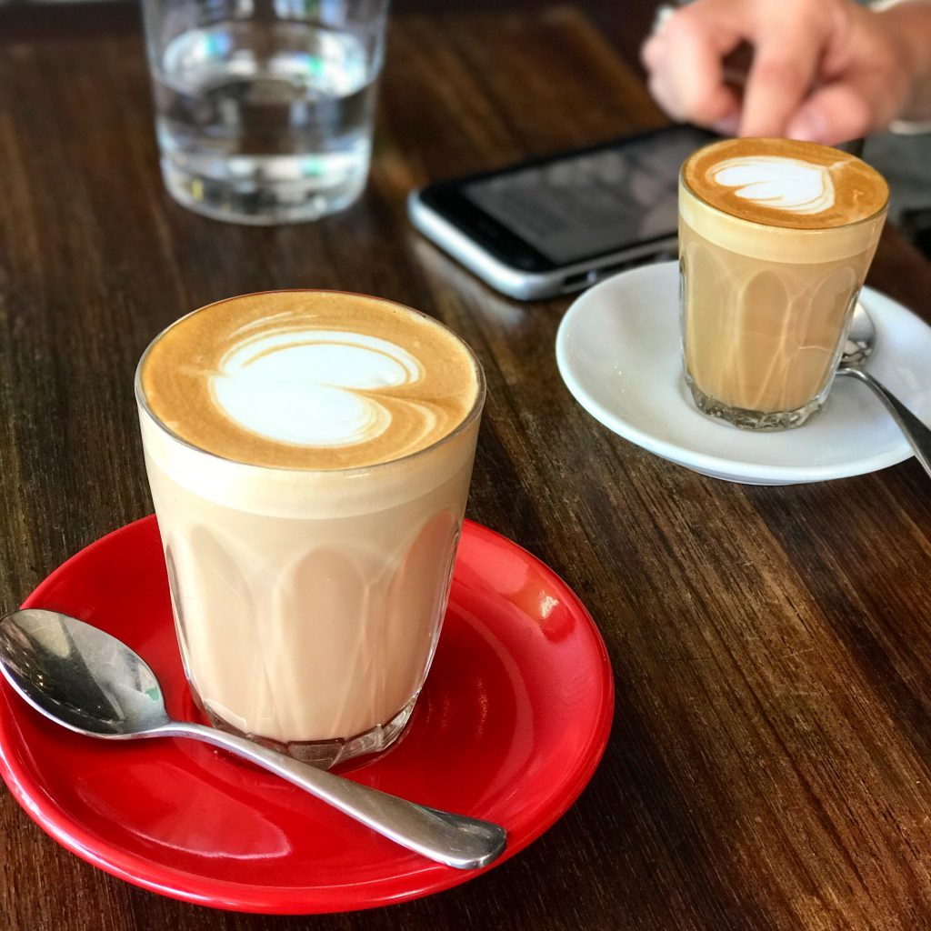 All day coffee at Targa in Byron Bay