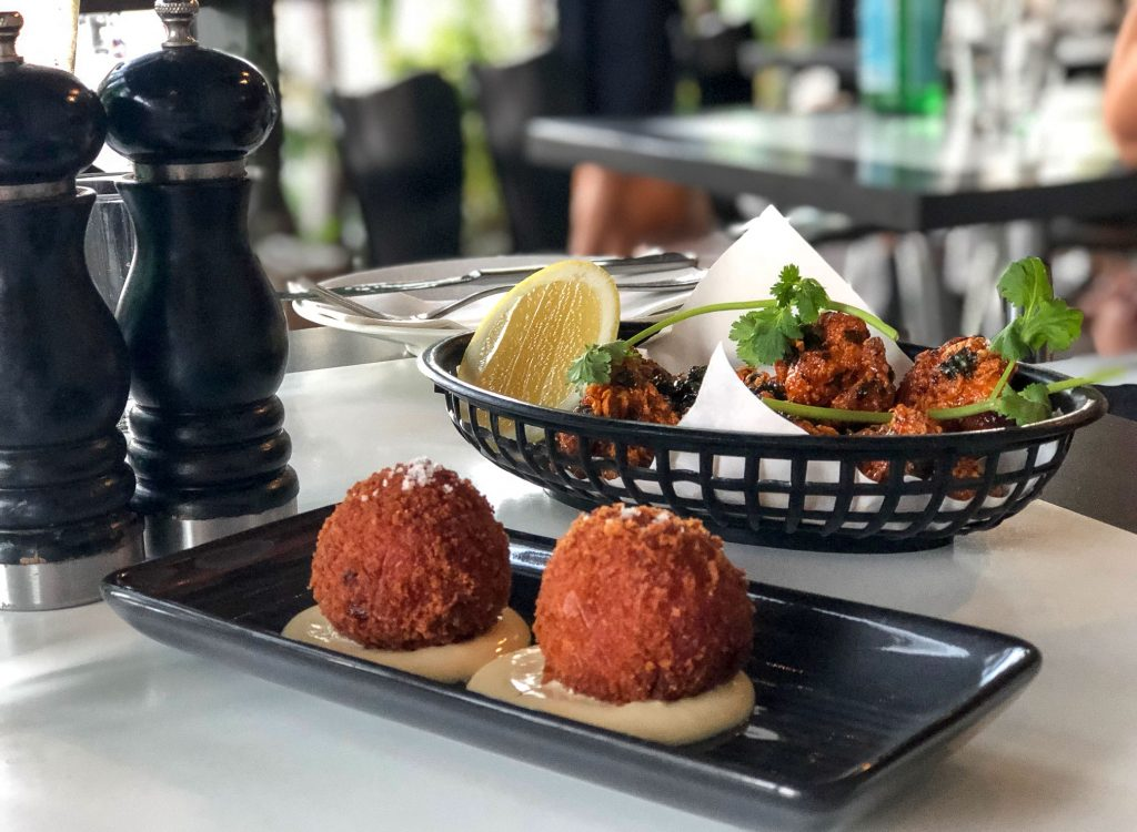 The Italian Diner Arancini and Sicilian Fried Chicken
