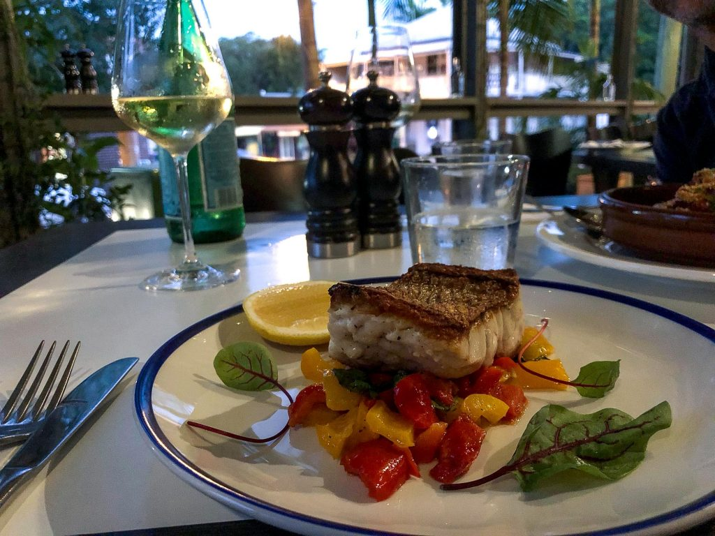 The Italian Diner Fish of the day