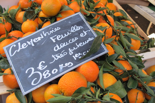 Markets in Aix-en-Provence, France