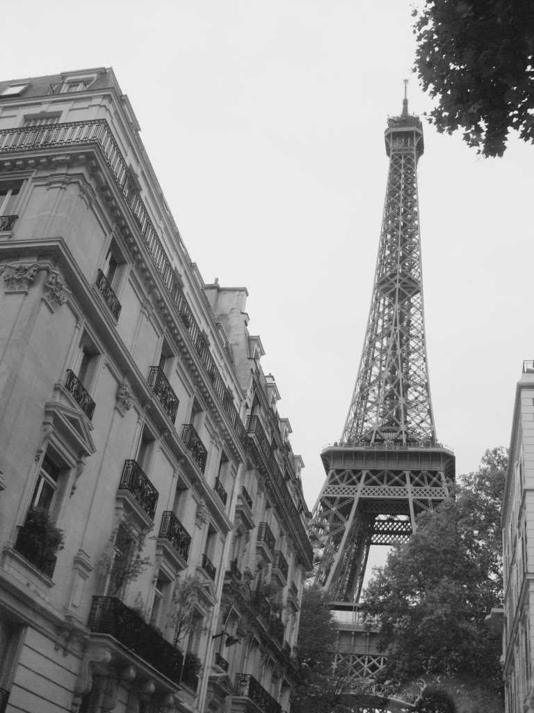Paris, France and Fifty Shades of Grey