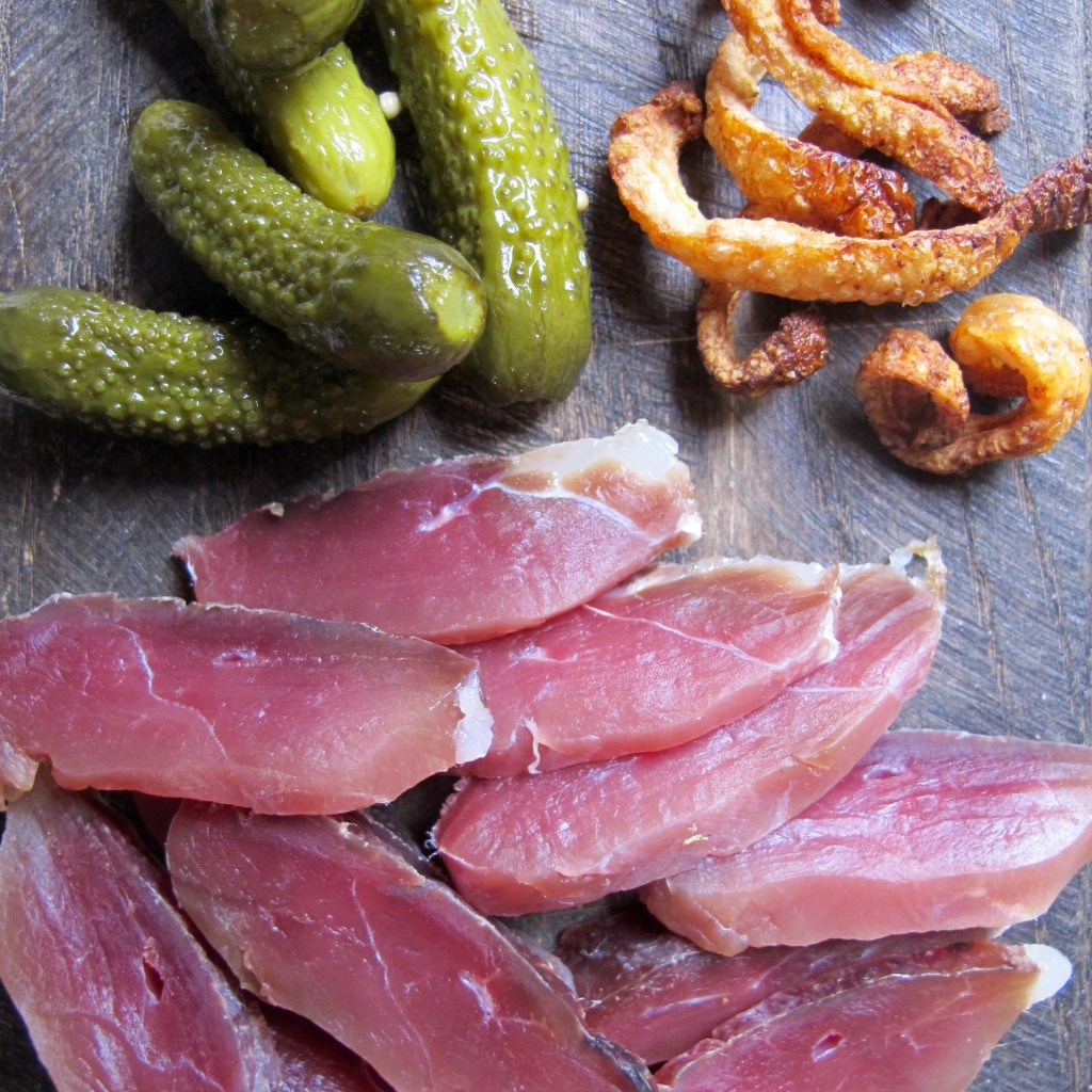 Duck Ham and Scratchings Recipe