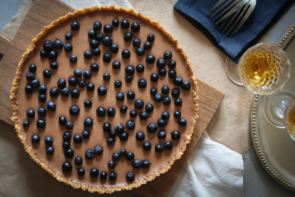 Anzac Chocolate Cream Tart Recipe