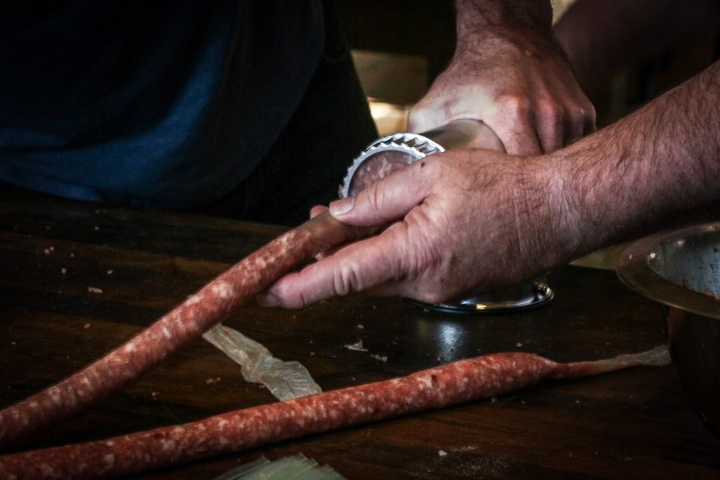 Sausage Making at Home Class