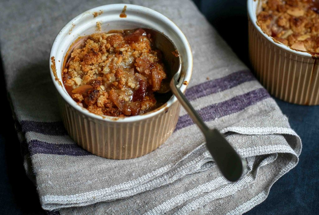 Nectarine Crumble Recipe