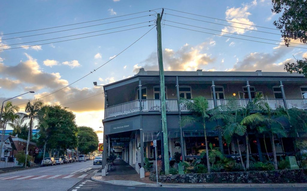 The Italian Diner in Bangalow: Review
