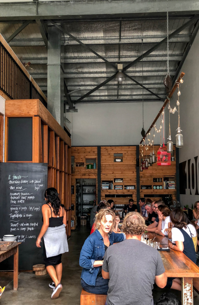 il tavolo at 100 Mile Table in Byron Bay