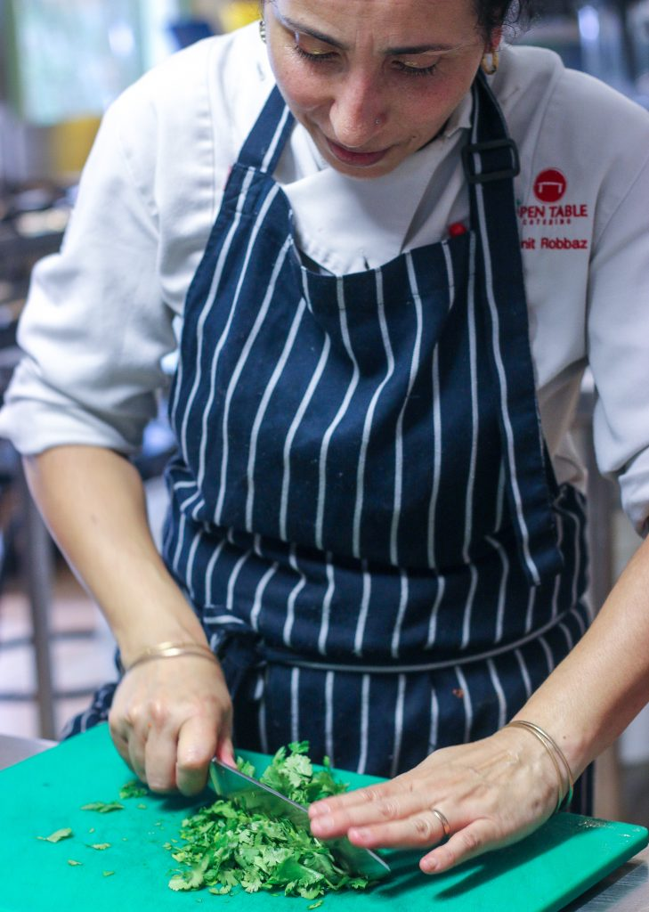 open table cooking school byron bay  get forked and fly