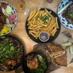 Lunch at Flock Espresso and Eats in Mullumbimby