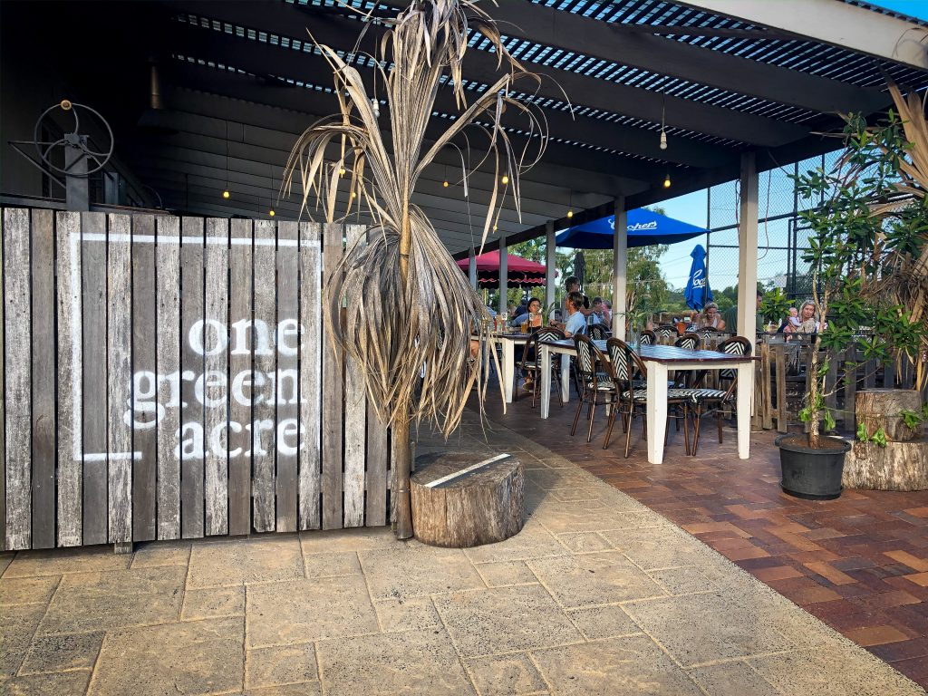 Entry to One Green Acre at the Bangalow Bowlo